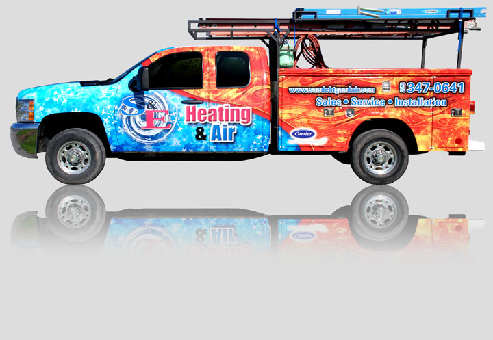 vehicle wrap graphic design