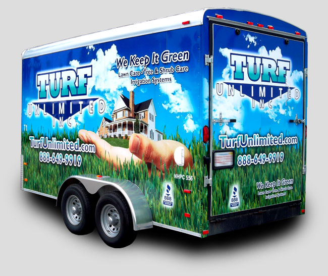 trailer wraps- box truck graphics
